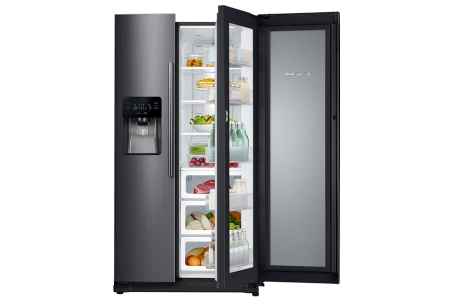 Samsung Black Edition refrigerados side