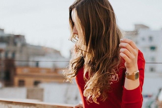 cabello ondeado