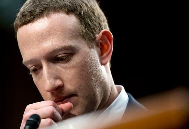 mark zuckerberg en juicio