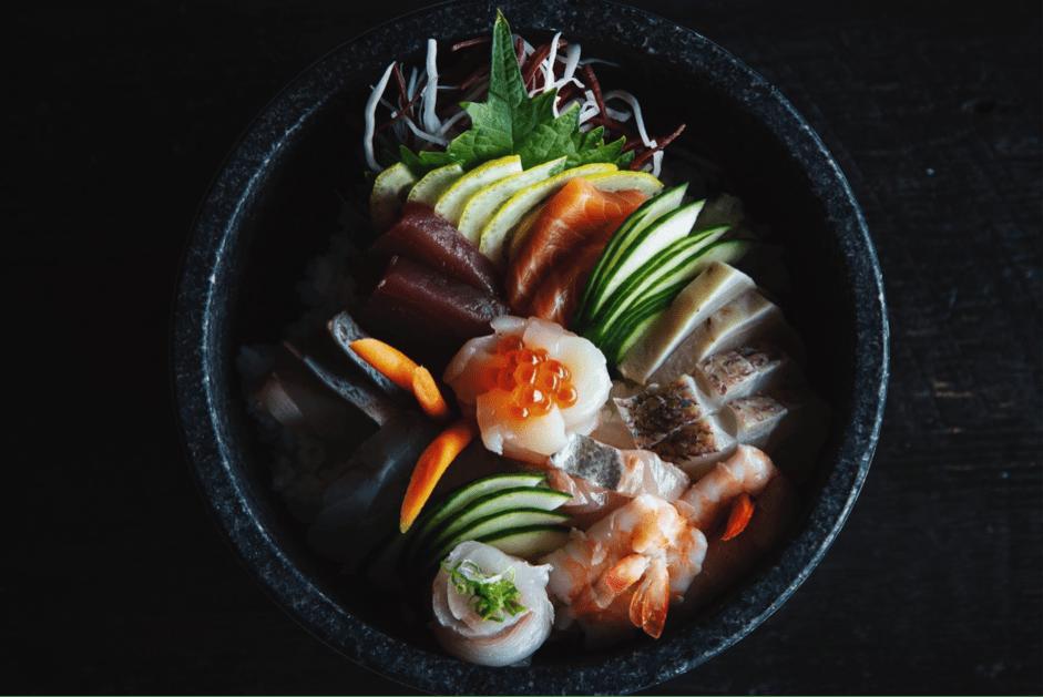 Tipos de sushi saludable